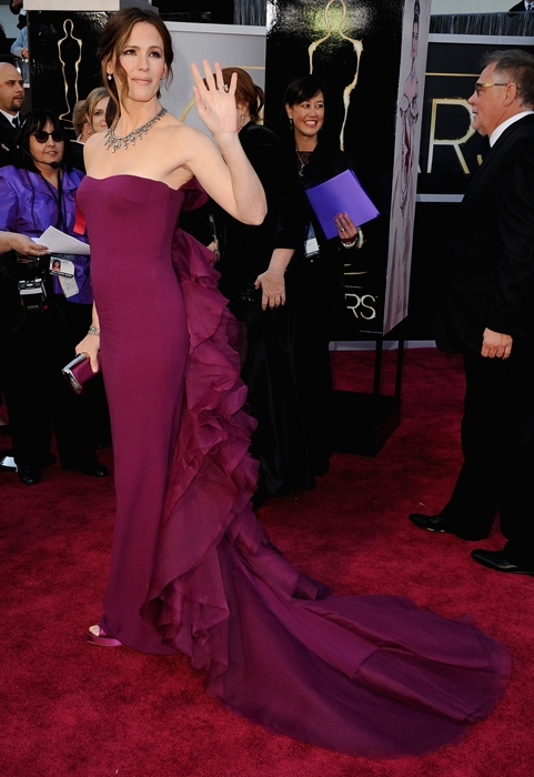 Jennifer Garner, 2013 Academy Awards, Oscars, Red Carpet, Gucci