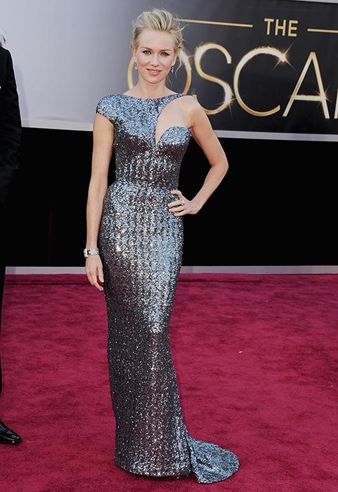 Naomi Watts, 2013 Academy Awards, Oscars, Red Carpet, Armani Prive